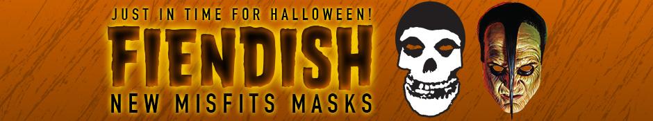 Misfits Halloween Masks