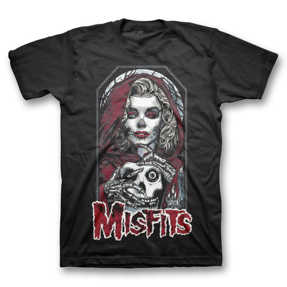 Get the all-new Misfits 40th Anniversary Logo designed by Shepard Fairey  (Obey Giant) on a classic black unisex tee before its available in any  store! 77cdeff0a19